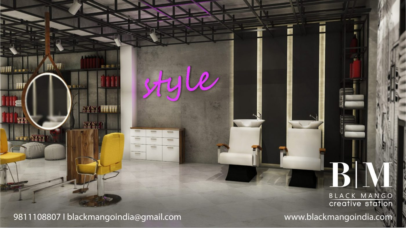 Beauty Salon Interior Designer | Salon Designer - blackmangoindia.com